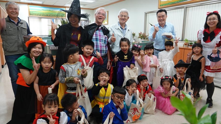 1101 卡爾喬&惠華幼兒園萬聖節活動